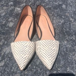 Madewell flats size 5